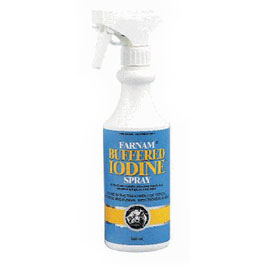 buffered iodine spray