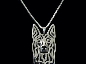 silver kelpie pendant